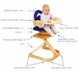 Svan Signet Complete High Chair Espresso by Signet Complete High Chair In Espresso By Svan
