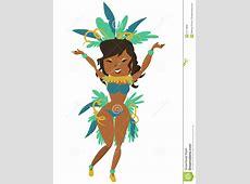 Brazilian carnival stock vector Illustration of plumage