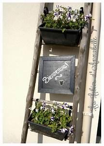 Echelle Decorative Casa : chelle fleur bienvenue decorasion pinterest home ~ Teatrodelosmanantiales.com Idées de Décoration
