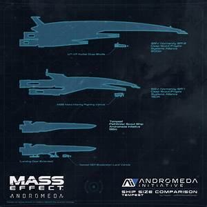 Mass Effect Andromeda Tempest Size Comparison By