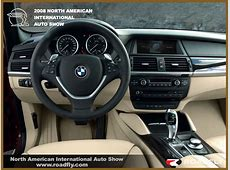 BMW Automobiles bmw x6 interior
