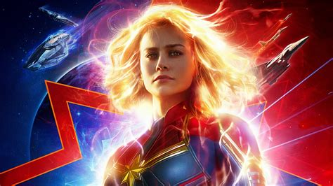 wallpaper captain marvel brie larson hd