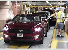 US New Auto Sales Ford Mustang Has Surpassed Chevrolet