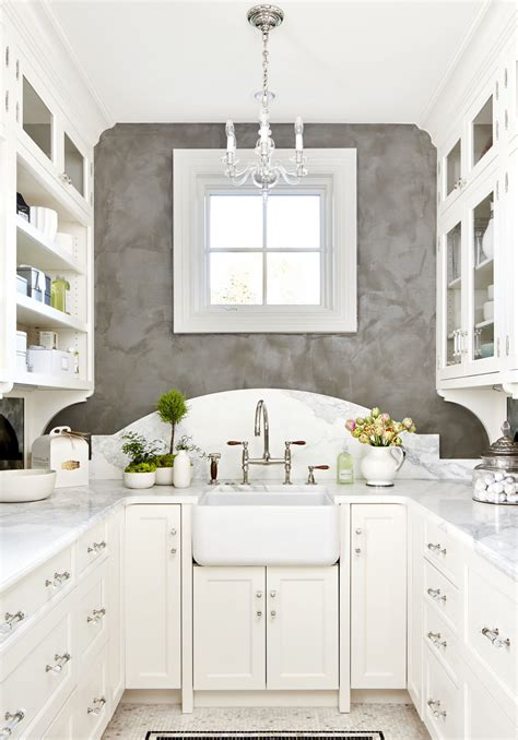 Photo by ethelind coblin architect p.c many of the experts we spoke with praised cabinetry that extends all the way to the ceiling. white galley kitchen small kitchen ideas - Scene Therapy
