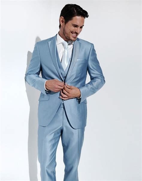 light blue tuxedo light blue suits for prom dress yy
