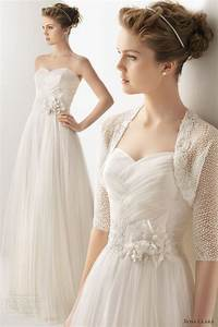 Soft by rosa clara 2014 wedding dresses wedding for Wedding dress bolero jacket