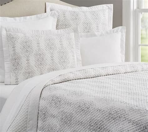 What Is A Coverlet Sham by Reeta Reversible Sateen Coverlet Sham Pottery Barn