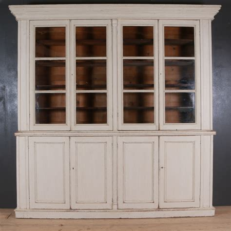 Painted Bookcases Uk by Country House Painted Bookcase Dresser Antique Bookcases