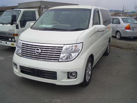 Nissan Elgrand Photo by Used 2004 Nissan Elgrand Photos 3500cc Gasoline