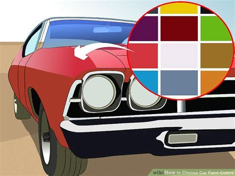3 ways to choose car paint colors wikihow