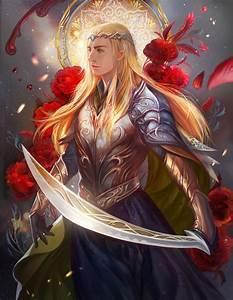 Fantasy male blue eyes hair long beautiful blond fairy ...