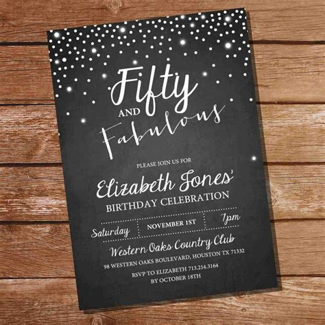 full size of colors:free printable invitations for 50th
