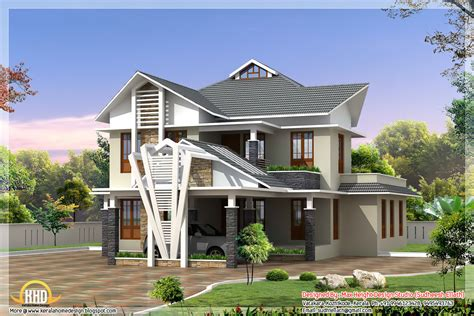 home design by exterior collections kerala home design 3d views of