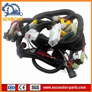 Internal And External Wiring Harness Fit Hitachi Ex120