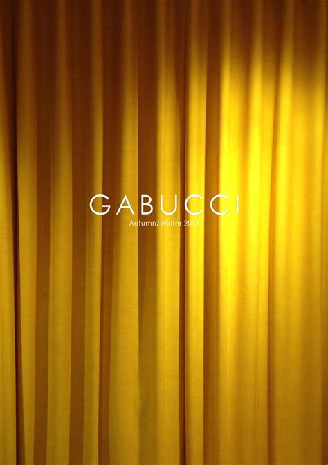 Gabucci Autumn/Winter 2013 Men s Lookbook by Gabucci Issuu