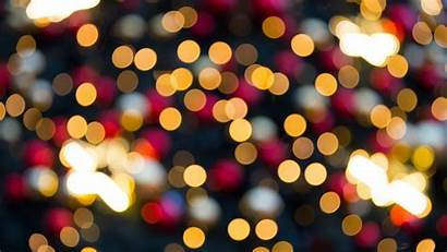 Bokeh Lights Blurred Abstract Colorful Christmas Pattern