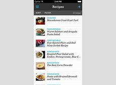Pepperplate Recipe, Menu and Cooking Planner app review a