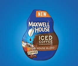 Made from 100% pure coffee, maxwell house original roast ground coffee is flavorful and delicious in a medium sized format that makes prep easy. Maxwell House - Kraft Recipes   Blended coffee, Iced ...