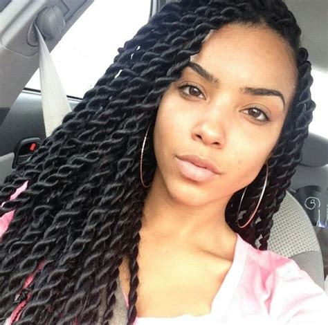Twists Braid Hairstyles by Large Senegalese Twists Box Braids Hairstyles Braided