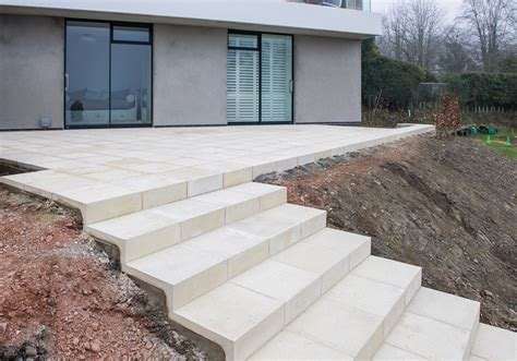 concrete slabs for steps steps white paving slabs designs ideas and decors 5673