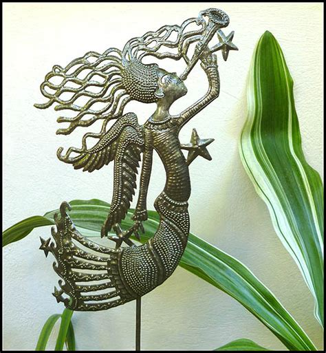metal garden plant stake decorative metal garden