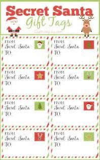 secret santa gift tags and exchange tips secret santa gifts secret santa and santa gifts