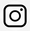 Black And White Instagram Logo PNG & Download Transparent ...