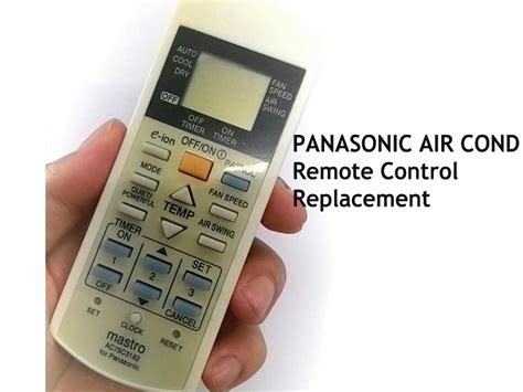 Air Conditioner Remote Control for Panasonic Air Cond