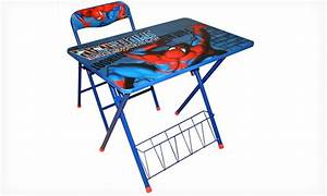 Spider-Man Activity Desk and Chair Set Groupon