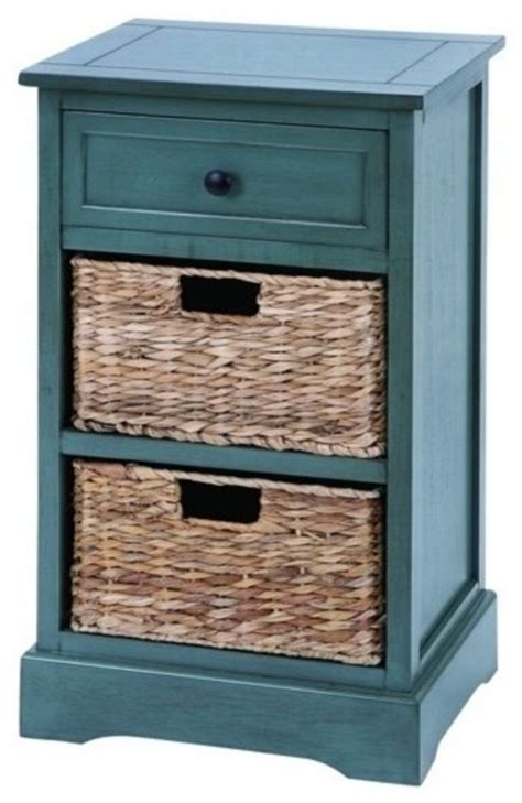 storage cabinets with wicker baskets woodcraft life style cabinet with 2 wicker baskets
