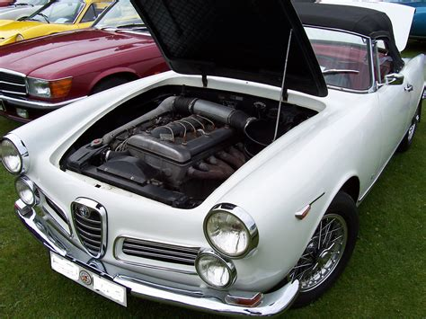 Alfa Romeo Spider Engine