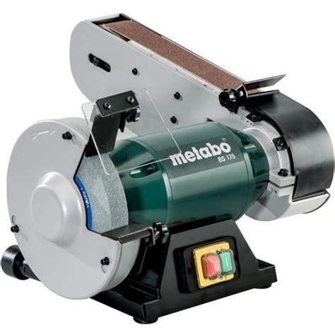 Metabo Bs 175 500w 175mm Bench Grinder With Sander (240v