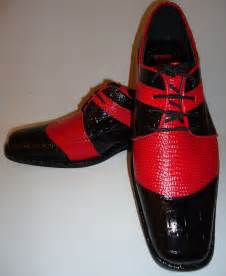Red Men's Dress Shoes