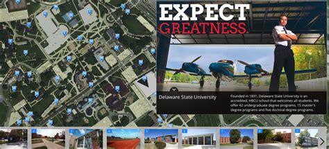 delaware state university campus  mapasyst