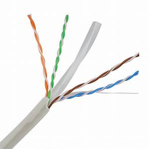 China Ccag Conductor Cat6 Network Cable Indoor Use