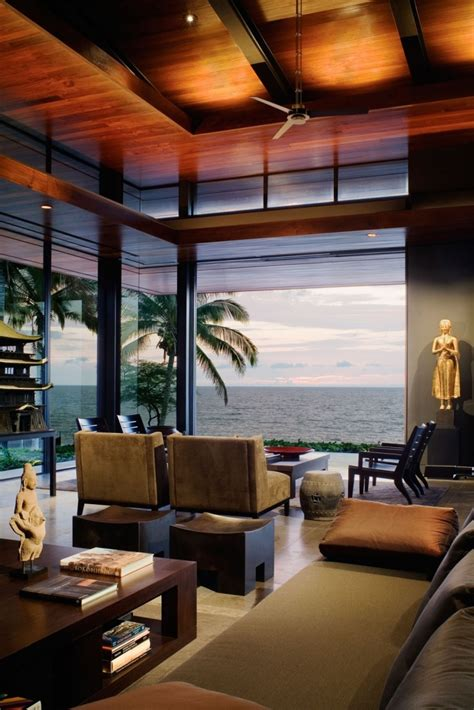 view interior of homes beautiful balinese style house in hawaii