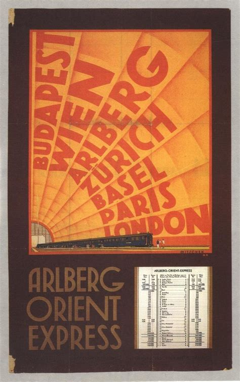 1000 Images About Orient Express Poster On Pinterest