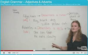 Grammar  Adjectives And Adverbs