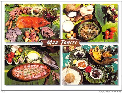 polynésie française maa tahiti plats traditionnels de la