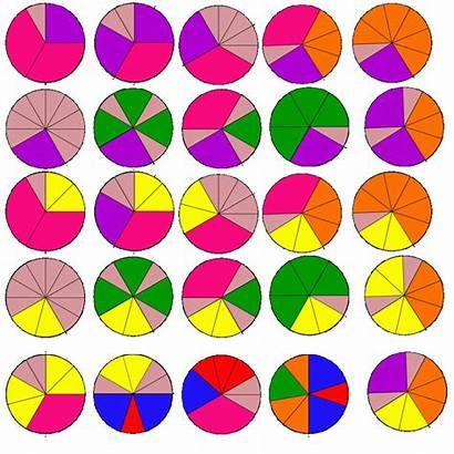 Clipart Fractions Template Fraction Equivalent Transparent Assembly