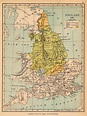 Map Of England 1050