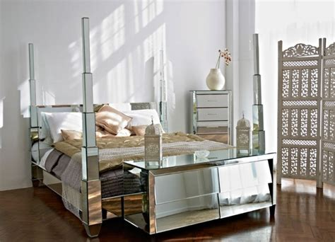 Old Hollywood Mirrored Bedroom Furniture