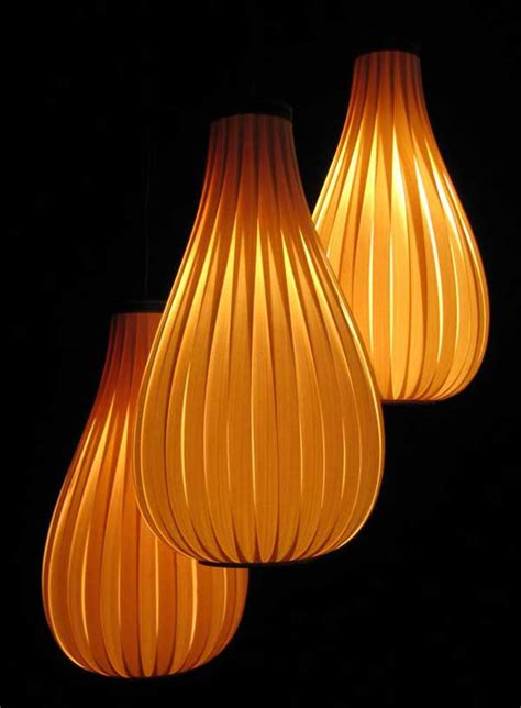 Artistic Lamp Shades by Wooden Light Shades