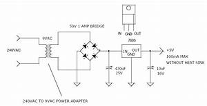 240vac To 5vdc Power Supply