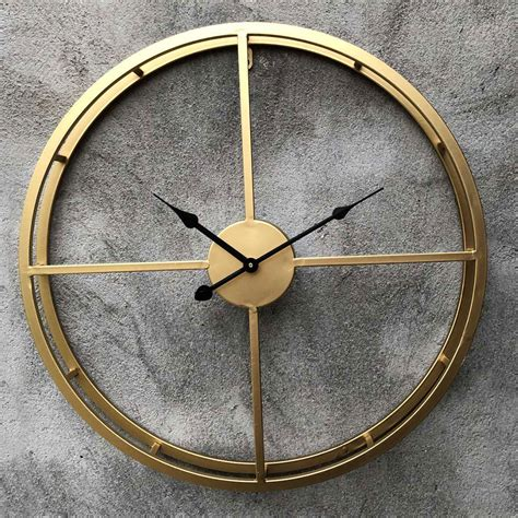 Large Wall Clock Decorative Hanging Watch For Home Office ...