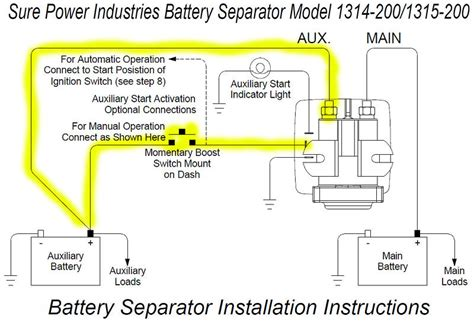 Sure Power Battery Isolator Wiring Diagram by Sportsmobileforum View Topic What Did You Do To