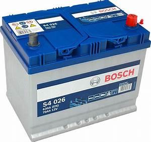 Bosch S4 12v 60ah : s4 026 bosch car battery 12v 70ah type 068 s4026 car ~ Jslefanu.com Haus und Dekorationen