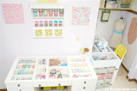 Small Craft Room Storage Solutions