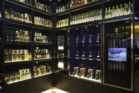 whisky shop flagship store  gpstudio london