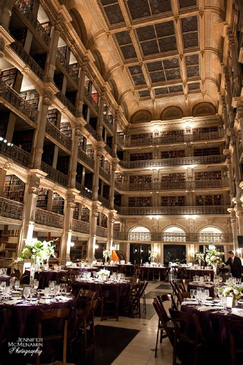 george peabody library wedding venue  baltimore